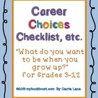 Career Choices Checklist