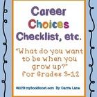 Career Choices Checklist