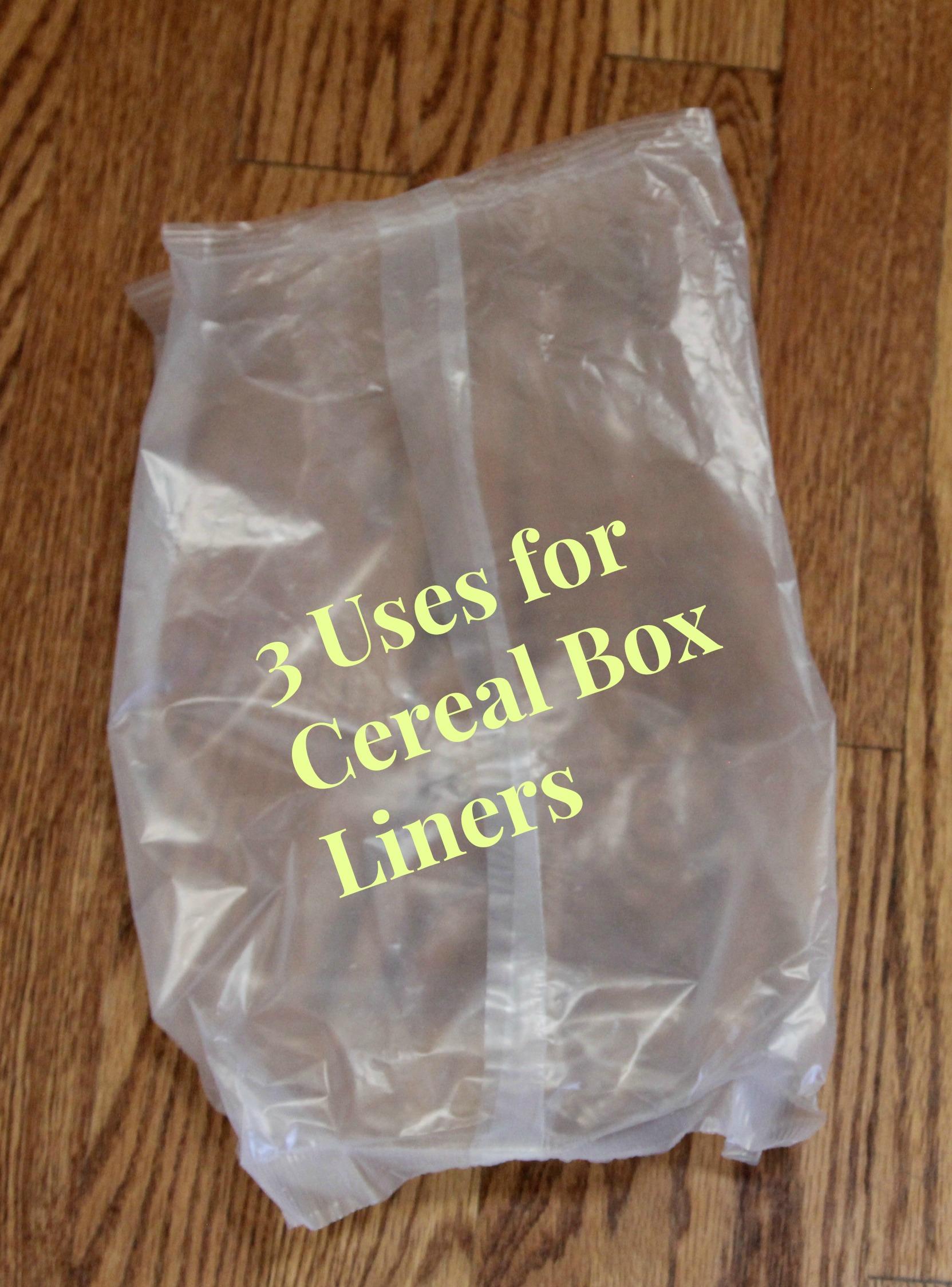 & 3 Ways to Reuse Cereal Box Liners Aboutintivar.Com