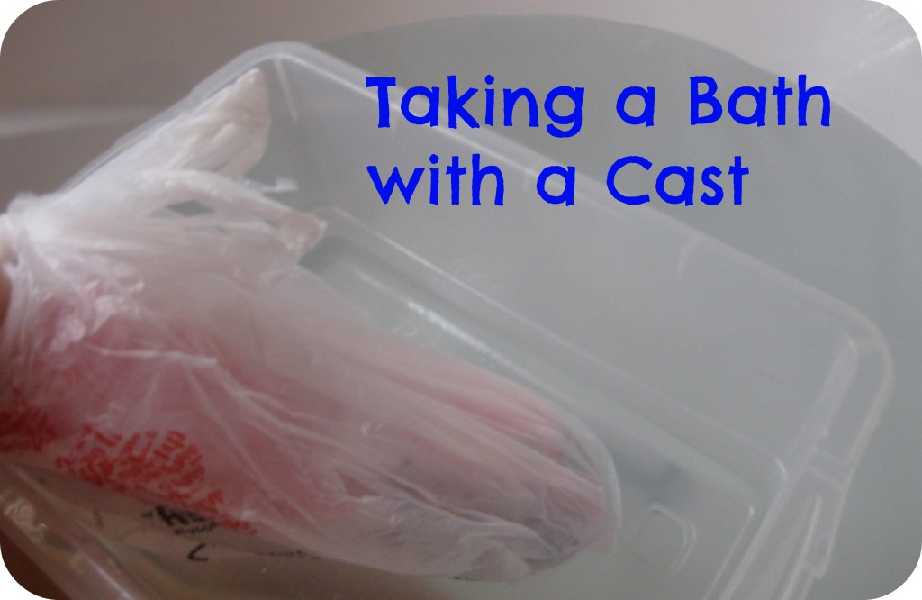Bathe with a Cast