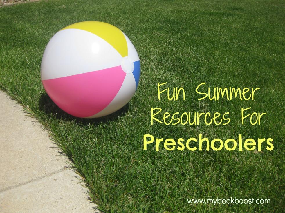 Fun Summer Resources For Preschoolers