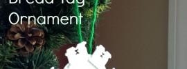 bread tag ornament