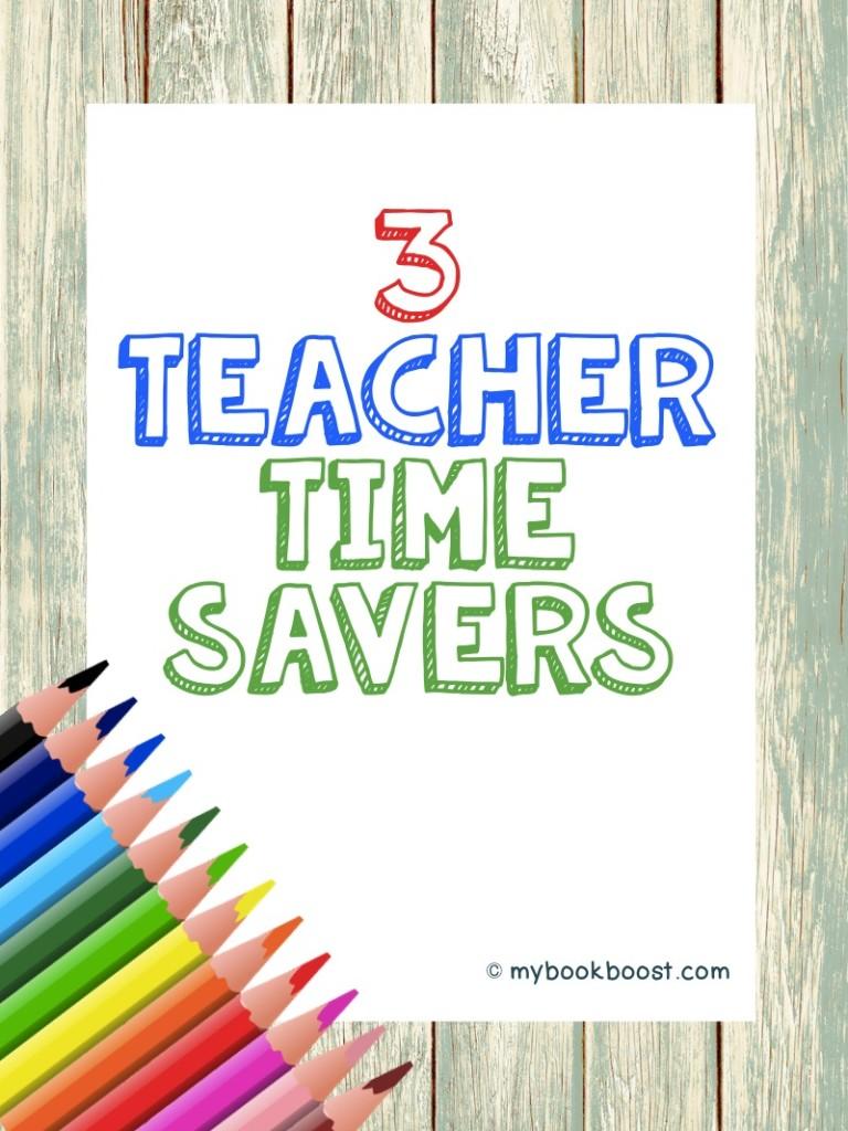 3 time savers